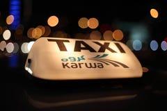 Doha Taxi Royalty Free Stock Photography