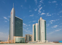 Doha Towers 2007 Royalty Free Stock Images