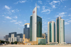 Doha towers Royalty Free Stock Images