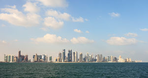Doha in winter Royalty Free Stock Photography