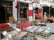 Dohabazaar Royalty-vrije Stock Foto