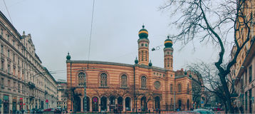 Dohany Street Synagogue Stock Images