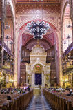 Dohany Street Synagogue (Great synagogue) interior in Budapet, H Stock Images