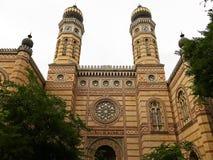 Dohany Uliczna synagoga także znać jako Wielka synagoga w Budapest, Węgry Obraz Royalty Free