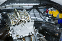 DOHC engine Stock Image