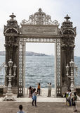 Dohlmabace宫殿伊斯坦布尔 免版税库存照片