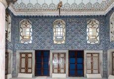 Dohlmabace宫殿闺房伊斯坦布尔 免版税库存照片