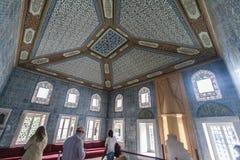 Dohlmabace宫殿闺房伊斯坦布尔 库存图片