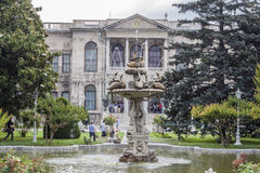 Dohlmabace Palace Istanbul Royalty Free Stock Images