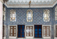 Dohlmabace-Palast-Harem Istanbul Lizenzfreie Stockfotos