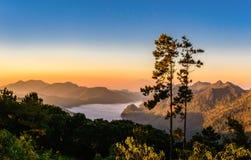 Doi Ang Khang en Thaïlande Images stock