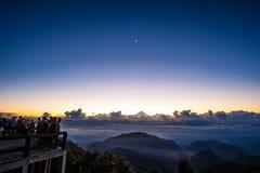 Doi Ang Khang, montaña de Ang Khang, Tailandia Imagenes de archivo