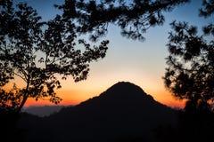 Doi Ang Khang. View from Doi Ang Khang,Chiang Mai ,Thailand Royalty Free Stock Image