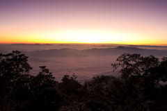 Doi Chiang Dao Royalty Free Stock Photography