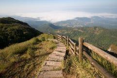 doi inthanon国家公园观点 库存图片