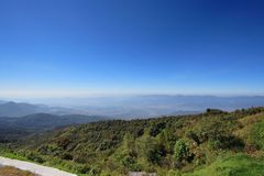 Doi Inthanon Photos libres de droits