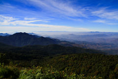 Doi Inthanon, Chiang Mai, Thaïlande images stock