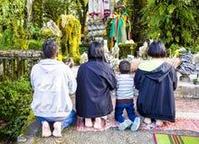 Doi Inthanon, Chom pasek, Chiang zdjęcia stock