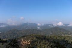 Doi Inthanon kullar 2 Fotografering för Bildbyråer
