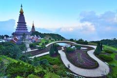 Doi Inthanon national park. Chiangmai, Thailand Royalty Free Stock Photos