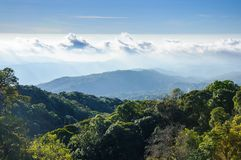 Doi Inthanon national park, ChiangMai, Thailand. Landscape of Doi Inthanon national park, ChiangMai, Thailand royalty free stock photography