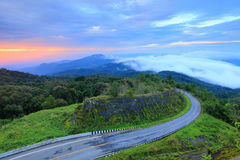 Doi Inthanon National Park. Locate in Chaingmai province Thailand, this mountain is the highest mountain of Thailand that have the fresh and clean air. This Stock Photo