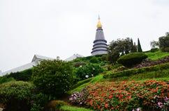 Doi Inthanon National Park located in MaeChaem ChiangMai Thailand Royalty Free Stock Photo