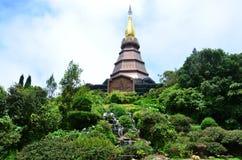 Doi Inthanon National Park located in MaeChaem ChiangMai Thailand Royalty Free Stock Photos