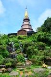 Doi Inthanon National Park located in MaeChaem ChiangMai Thailand Royalty Free Stock Photography