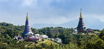 Doi Inthanon National Park. Is a national park in Northern of Thailand Royalty Free Stock Photography