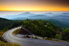 Doi Inthanon national park Stock Image