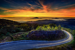 Doi Inthanon National park Royalty Free Stock Image