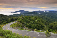 Doi Inthanon nationalpark Royaltyfri Foto