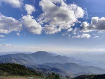 Doi Ithanon park narodowy - osamotniony Zdjęcia Stock