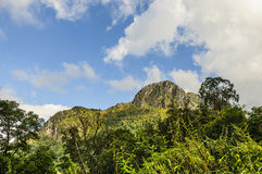Doi Luang Chiang Dao at Chiang Mai province in Thailand Stock Photography