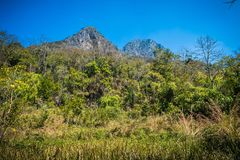 Doi Luang Chiang Dao Mountain Landscape Royalty Free Stock Images