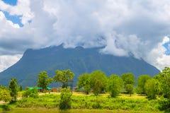 Doi Luang Chiang Dao patrzeje od Doi Mae Ta mężczyzna, Chiang Mai, Tajlandia Zdjęcia Stock