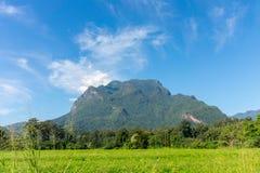 Doi Luang Chiang Dao przy Chiang Dao okręgiem Chiang Mai prowincja w północnym Tajlandia Zdjęcie Royalty Free