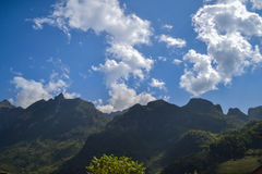 Doi Luang Chiangdao Mountains Royalty Free Stock Image