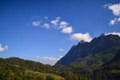 Doi Luang Chiangdao Mountains. Beautiful Mountains in Chiangmai Thailand Stock Image