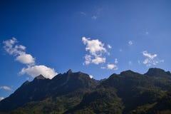 Doi Luang Chiangdao Mountains. Beautiful Mountains in Chiangmai Thailand Stock Photo