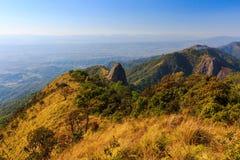 Doi Luang nationalpark Arkivbilder