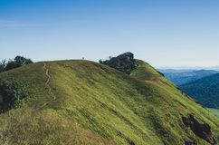 Doi lunedì Jong ha un bello paesaggio riempito di catene montuose Fotografie Stock