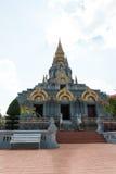 Doi Mae Salong. Temple on the top of the mountain of Doi Mae Salong Stock Image