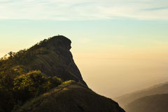 Doi Monjong, a peaceful mountain in Chiangmai, Thailand Stock Photography
