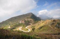 Doi pha tang. Hiking on Doi pha tang Chiangrai royalty free stock images