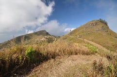 Doi pha tang. Hiking on Doi pha tang Chiangrai royalty free stock photo