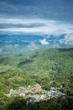Doi Pui Hmong Dorf Lizenzfreie Stockfotos