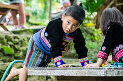 DOI PUI karen children. Royalty Free Stock Photo