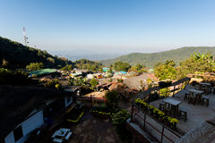 Doi Pui village in Thailand Royalty Free Stock Photography